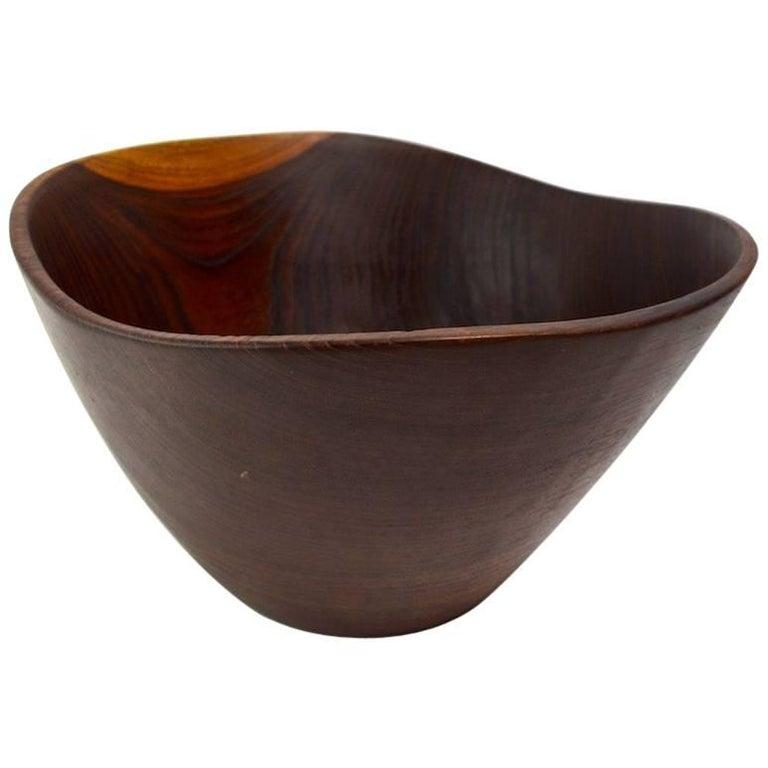 Danish Rosewood Salad Bowl