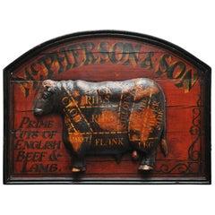 McPherson and Son's Butcher Shop Sign