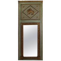 19th Century Classical French Trumeau Mirror