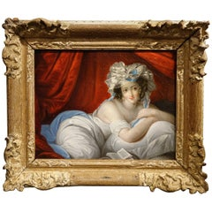 Young Woman Languid on Her Bed, French School, circa 1770