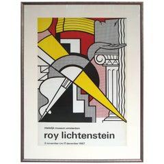 """Original Roy Lichtenstein offset lithograph, """"Stedelijk Museum Poster"""""""