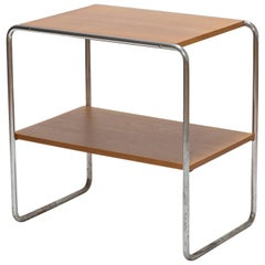Bauhaus B20 Side Table Designed by Marcel Breuer