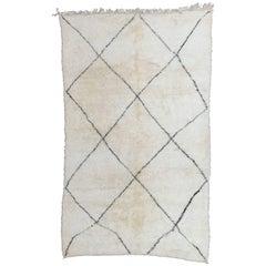 Moroccan Berber Rug, Marmoucha / Beni Ourain, Contemporary