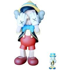 Kaws, Pinocchio and Jiminy Cricket 'Set', Disney Medicom Toy Corporation 2010
