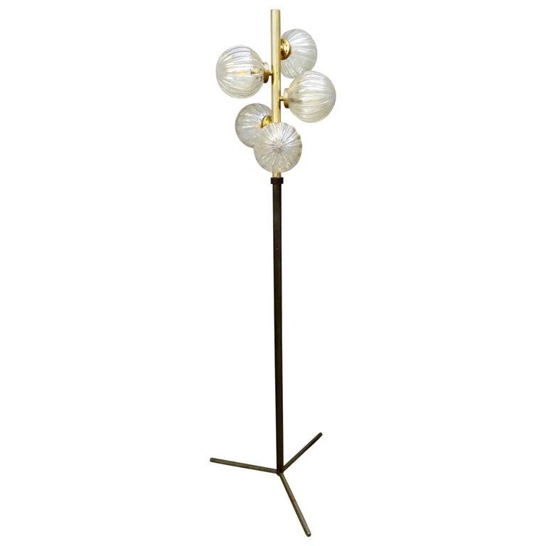 French Midcentury Floor Lamp