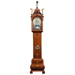 18th Century Dutch Automaton Longcase Clock