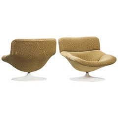 Geoffrey Harcourt Model F 518 Swivel Lounge Chairs for Artifort, Set of Two