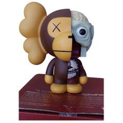 Kaws Milo 2011 'Brown' a Bathing Ape, OriginalFake, Medicom Toy, Original Box