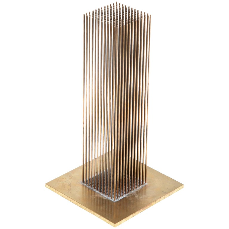 Limited Edition Sonambient Sculpture Designed by Harry Bertoia