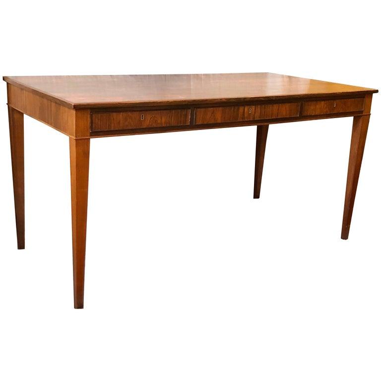 Frits Henningsen Desk in Rosewood