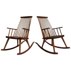 Pair of Thomas Moser Rocking Chairs
