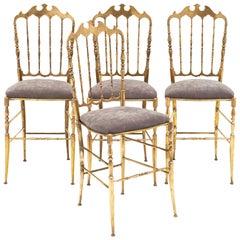 Four Vintage Chiavari Chairs