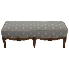 18th Century Louis XV Petite Footstool Tabouret Original Aged Finish