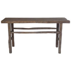 19th Century Chinese Elm Console