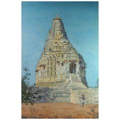 British School W/C Kandariya Mahadeva Temple at Khajuraho India