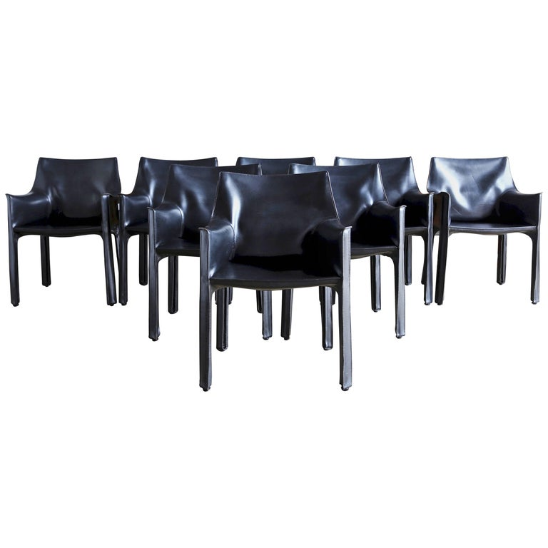 CAB Armchairs by Mario Bellini for Cassina