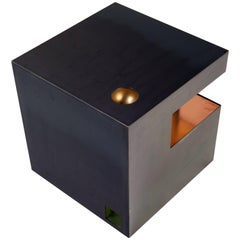 Cube Side Table by Harry Clark