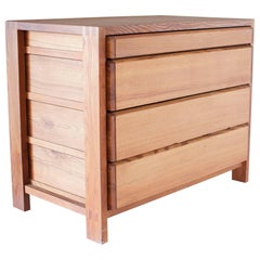 Pierre Chapo, Four-Drawer Chest R03A