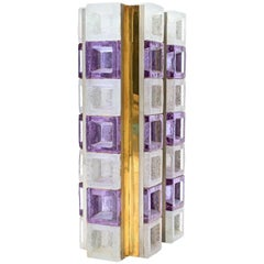 Poliarte Cube Table Lamp by Albano Poli