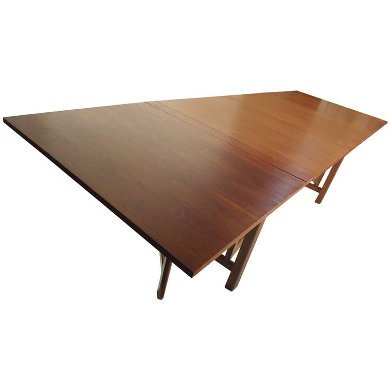 Bruno Mathsson Gate Leg Maria Extension Dining Table