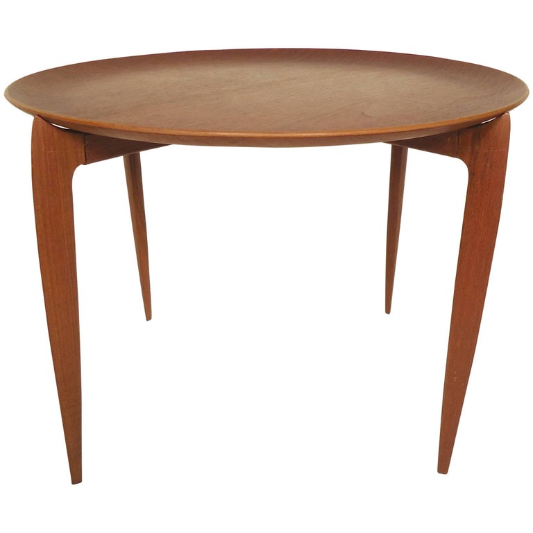 Fritz Hansen Table with Removable Tray
