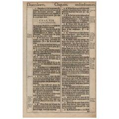 Love Thy Neighbor, 1611 King James Bible