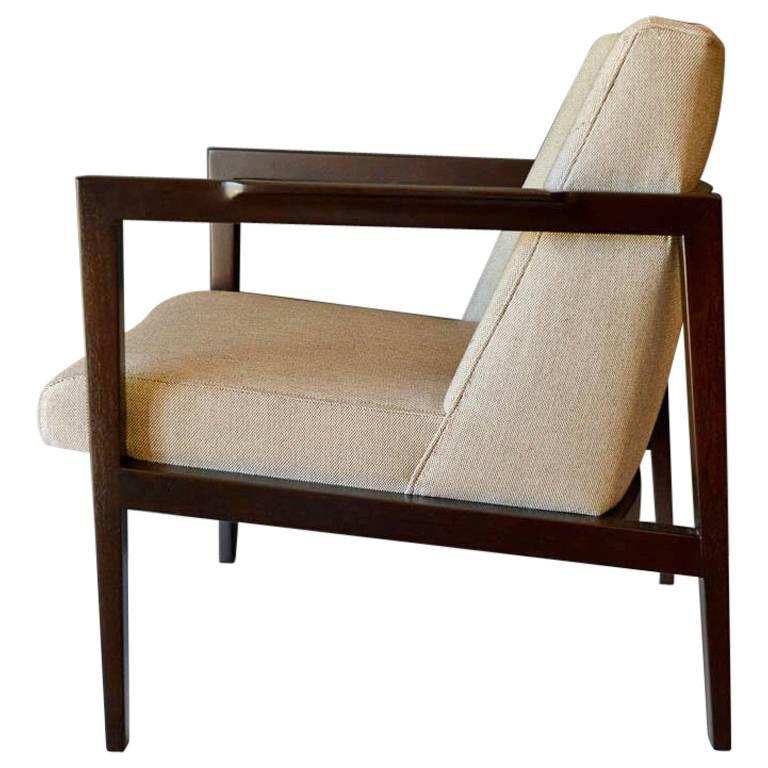 Dunbar Open Frame Lounge or Armchair, circa 1960