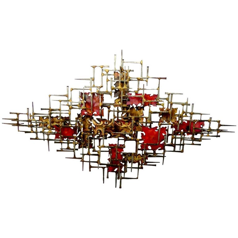 Wall Sculpture by William and Bruce Friedle