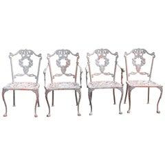Molla Cast Aluminum Chairs, 1952