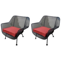 Woodard Pair of Sculptura Outdoor Lounges