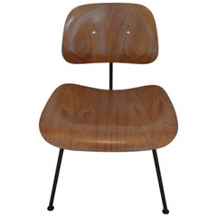 Herman Miller Eames 1950s Walnut Dining Room Chair with New HM Frames