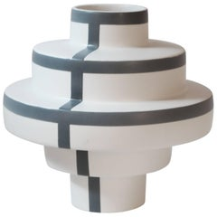 Montèe Stripes Vase Limited Edition by Simona Cardinetti