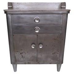 Vintage Modern Industrial Hamilton Cabinet