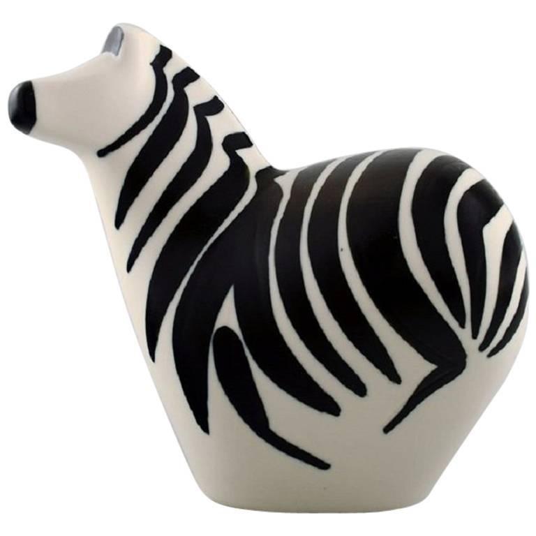 Lillemor Mannerheim, Zebra, Arabia for WWF in Stoneware