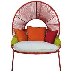 "Outdoor Lounge Armchair ""Traveler"" Design by Stephen Burks European Edition"