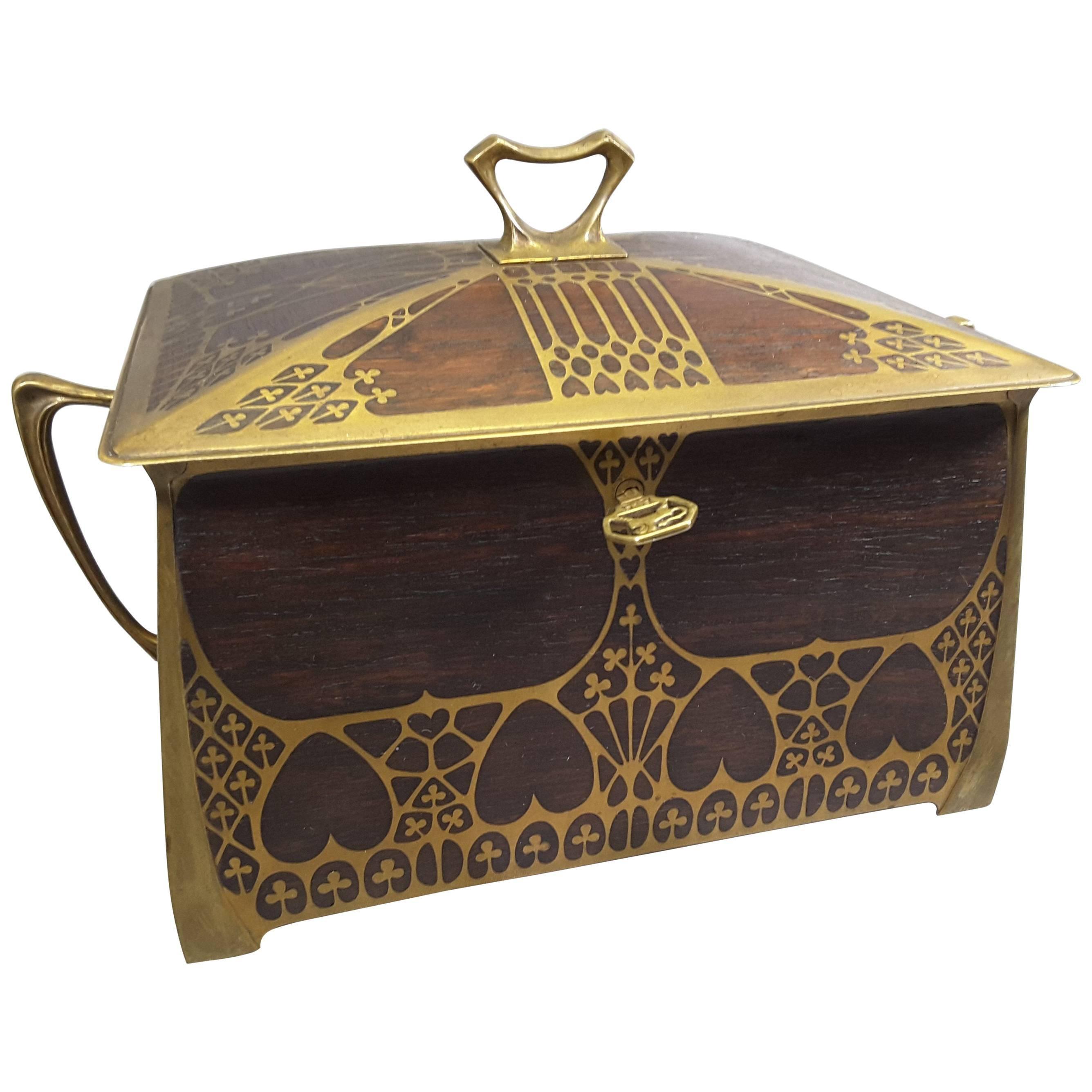 Art Nouveau Boxes 81 For Sale at 1stdibs