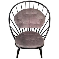 Restored Sven Engstrom Arch Chair Made in Sweden