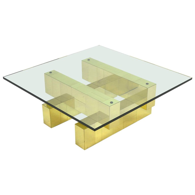 Paul Evans Cityscape Coffee Table by Directional For Sale