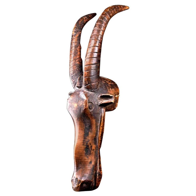 Bamana Antelope Mask, Africa, Early 20th Century