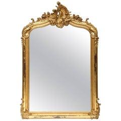 Louis Phillippe Gilt Mirror