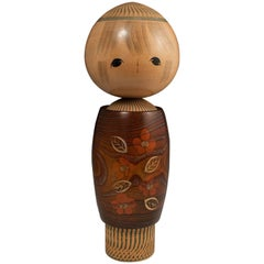 Large Modern Creative Kokeshi Doll by Tamura Noboru, Japan