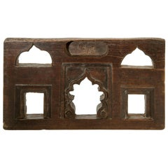 Vintage Miniature Architectural Votive & Picture Frame, Mid-20th Century, India