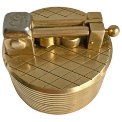 Gold-Plated Gubelin Lighter