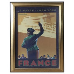 Framed Travel Poster