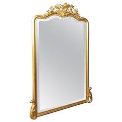 Big Napoleon III Mirror, France, 19th Century