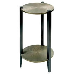 Side Table End Table Bronze New