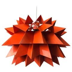 Star Light Ceiling Pendant by Anton Fogh Holm & Alfred Andersen, Denmark, 1963