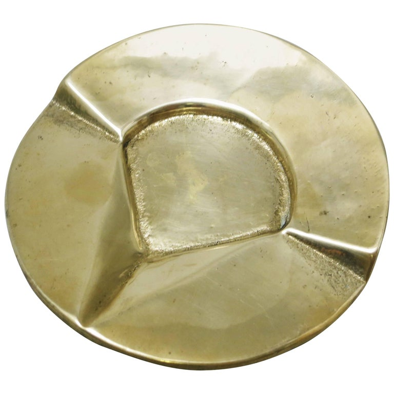 Austrian Modernist Bronze Ashtray