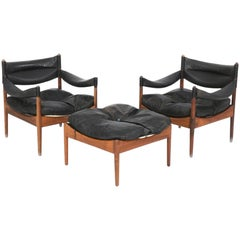 """Kristian S. Vedel, """"Modus"""", Set of Armchairs and Ottoman"""
