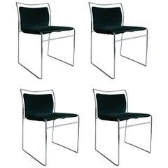 "Four ""Tulu"" Chairs by Kazhuide Takahama for Simon Gavina, 1968"